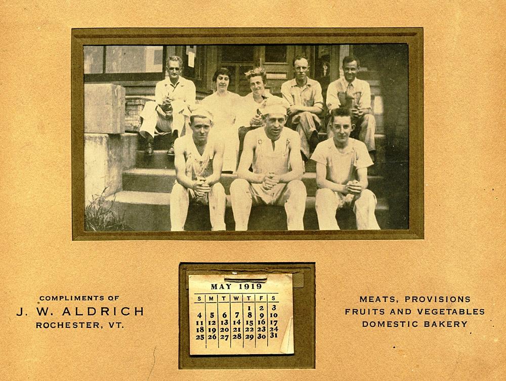 Aldrich's Store Calendar